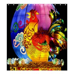 Chinese Zodiac Signs Shower Curtain 66  X 72  (large)
