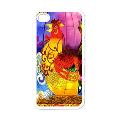 Chinese Zodiac Signs Apple Iphone 4 Case (white)