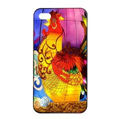 Chinese Zodiac Signs Apple Iphone 4/4s Seamless Case (black)