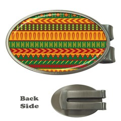 Mexican Pattern Money Clips (oval)