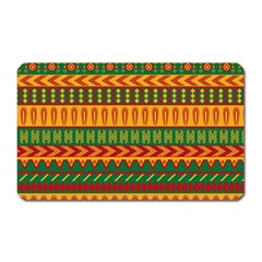 Mexican Pattern Magnet (rectangular)