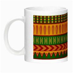 Mexican Pattern Night Luminous Mugs