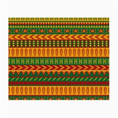 Mexican Pattern Small Glasses Cloth