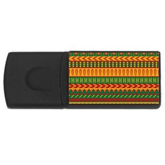 Mexican Pattern Rectangular Usb Flash Drive