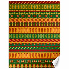 Mexican Pattern Canvas 12  X 16