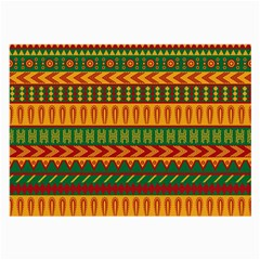 Mexican Pattern Large Glasses Cloth (2 Side)