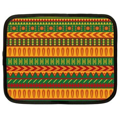 Mexican Pattern Netbook Case (large)