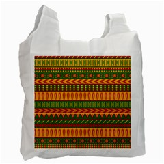 Mexican Pattern Recycle Bag (two Side)
