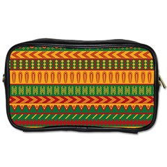 Mexican Pattern Toiletries Bags 2 Side