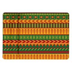 Mexican Pattern Samsung Galaxy Tab 10 1  P7500 Flip Case