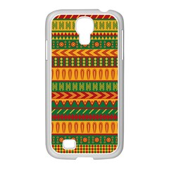 Mexican Pattern Samsung Galaxy S4 I9500/ I9505 Case (white)