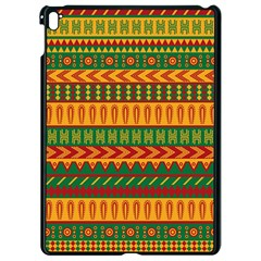 Mexican Pattern Apple Ipad Pro 9 7   Black Seamless Case