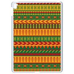Mexican Pattern Apple Ipad Pro 9 7   White Seamless Case