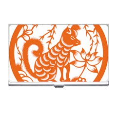Chinese Zodiac Dog Business Card Holders