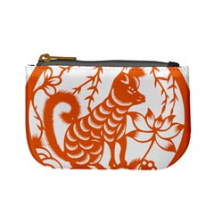 Chinese Zodiac Dog Mini Coin Purses