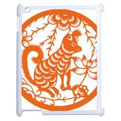 Chinese Zodiac Dog Apple Ipad 2 Case (white)