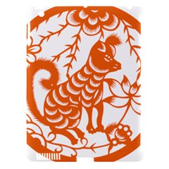 Chinese Zodiac Dog Apple Ipad 3/4 Hardshell Case (compatible With Smart Cover)