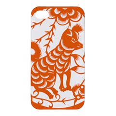 Chinese Zodiac Dog Apple Iphone 4/4s Premium Hardshell Case