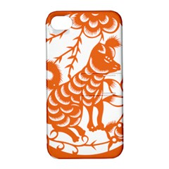 Chinese Zodiac Dog Apple Iphone 4/4s Hardshell Case With Stand