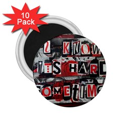 Top Lyrics   Twenty One Pilots The Run And Boys 2 25  Magnets (10 Pack)