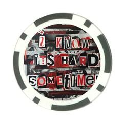 Top Lyrics   Twenty One Pilots The Run And Boys Poker Chip Card Guard (10 Pack)