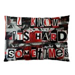 Top Lyrics   Twenty One Pilots The Run And Boys Pillow Case (Two Sides) Front