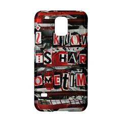 Top Lyrics   Twenty One Pilots The Run And Boys Samsung Galaxy S5 Hardshell Case