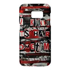 Top Lyrics   Twenty One Pilots The Run And Boys Samsung Galaxy S7 Hardshell Case