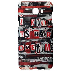 Top Lyrics   Twenty One Pilots The Run And Boys Samsung C9 Pro Hardshell Case