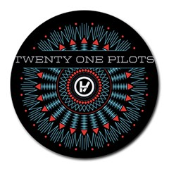 Twenty One Pilots Round Mousepads