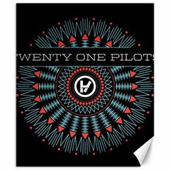 Twenty One Pilots Canvas 8  X 10