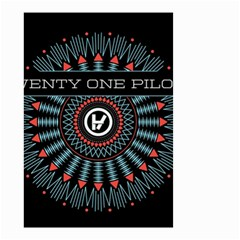 Twenty One Pilots Small Garden Flag (two Sides)