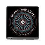 Twenty One Pilots Memory Card Reader (Square) Front
