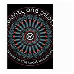 Twenty One Pilots Large Garden Flag (two Sides)