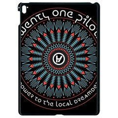 Twenty One Pilots Apple Ipad Pro 9 7   Black Seamless Case