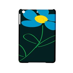 Whimsical Blue Flower Green Sexy Ipad Mini 2 Hardshell Cases