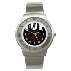 Twenty One Pilots Event Poster Stainless Steel Watch