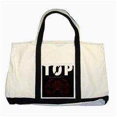Twenty One Pilots Event Poster Two Tone Tote Bag