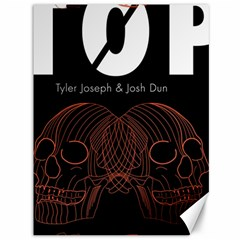 Twenty One Pilots Event Poster Canvas 36  X 48