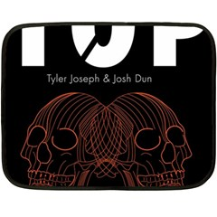 Twenty One Pilots Event Poster Double Sided Fleece Blanket (mini)