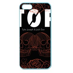 Twenty One Pilots Event Poster Apple Seamless Iphone 5 Case (color)