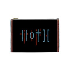 Twenty One Pilots Event Poster Cosmetic Bag (medium)