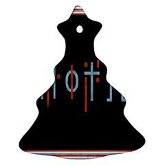 Twenty One Pilots Event Poster Christmas Tree Ornament (two Sides)