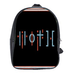 Twenty One Pilots Event Poster School Bag (xl)