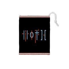 Twenty One Pilots Event Poster Drawstring Pouches (small)