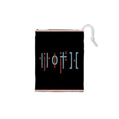Twenty One Pilots Event Poster Drawstring Pouches (xs)
