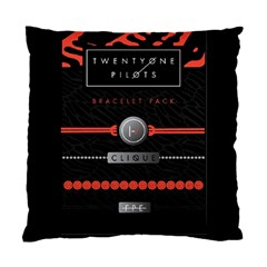 Twenty One Pilots Event Poster Standard Cushion Case (one Side)