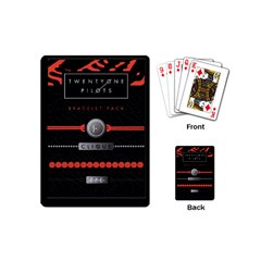 Twenty One Pilots Event Poster Playing Cards (mini)