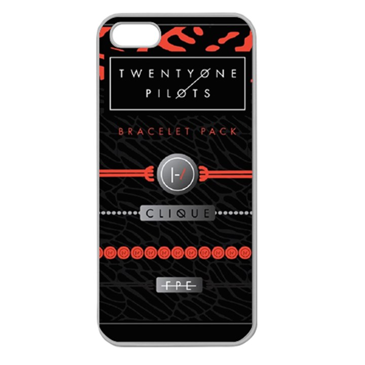 Twenty One Pilots Event Poster Apple Seamless iPhone 5 Case (Clear)