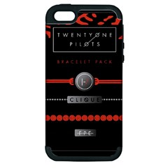 Twenty One Pilots Event Poster Apple Iphone 5 Hardshell Case (pc+silicone)